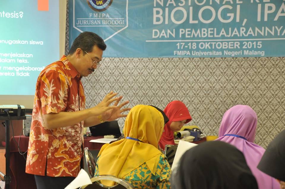Workshop Literasi Sains dalam Seminar Nasional ke-2 dan Workshop Biologi, IPA, dan Pembelajarannya