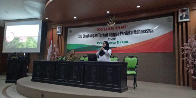 Kuliah Tamu dari University Putra Malaysia