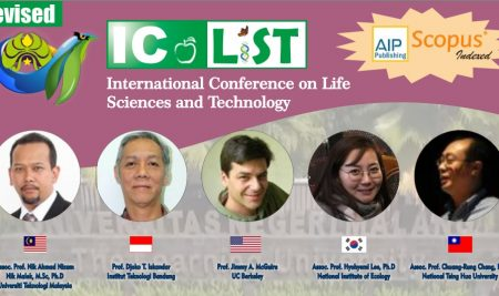 International Conference on Life Sciences and Technology (ICOLIST) 2019