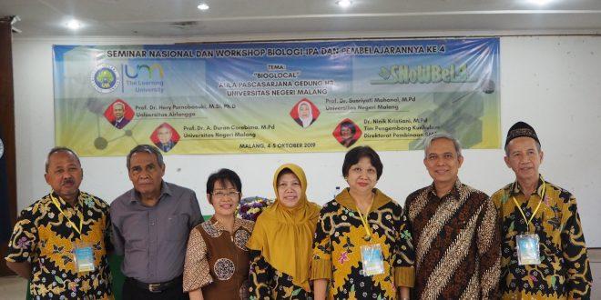 Seminar Nasional dan Workshop Biologi-IPA dan Pembelajarannya (SNoWBeL) Ke-4