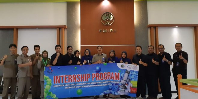 Enam Delegasi Jurusan Biologi Mengikuti Program Research Internship di National Tsing Hua University, Taiwan