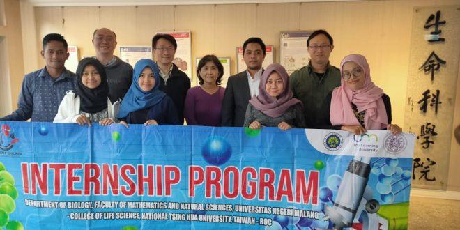 College of Life Science, NTHU Taiwan berkomitmen untuk terus meningkatkan kerjasama dengan FMIPA, Universitas Negeri Malang