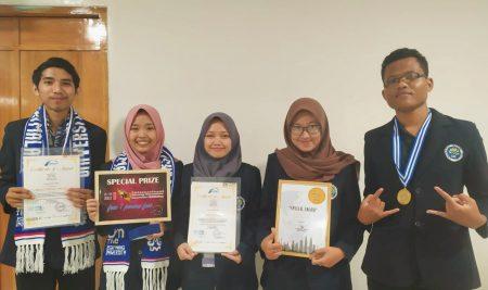 Mahasiswa Jurusan Biologi Menjadi yang Terbaik dalam kompetisi ASEAN Innovation Science and Enterpreneur Fair