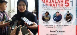 DOSEN JURUSAN BIOLOGI UM, Dr. Vivi Novianti Menjadi Pembicara dalam Launching Majalah 51 Indikator