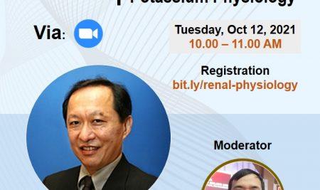 "Hadiri Kuliah Tamu dari Universiti Malaya Malaysia dengan tema ""The KId and two Cats: Renal Sodium and Potassium Physiology"""